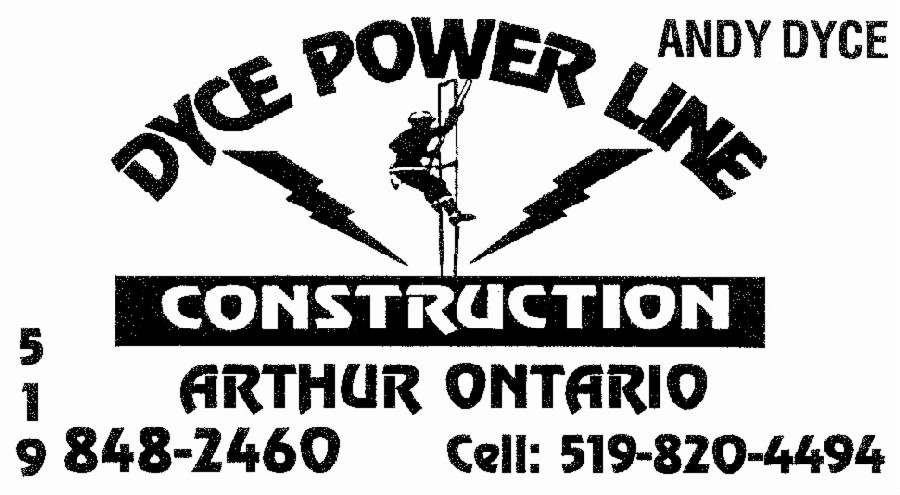Dyce Power Line Construction