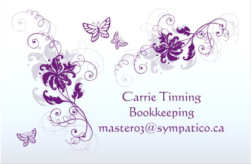 Carrie Tinning Bookkeeping